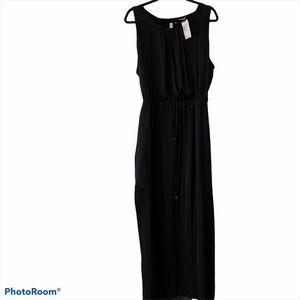 NWT REVOLUTION flowy black maxi dress SZ XXL